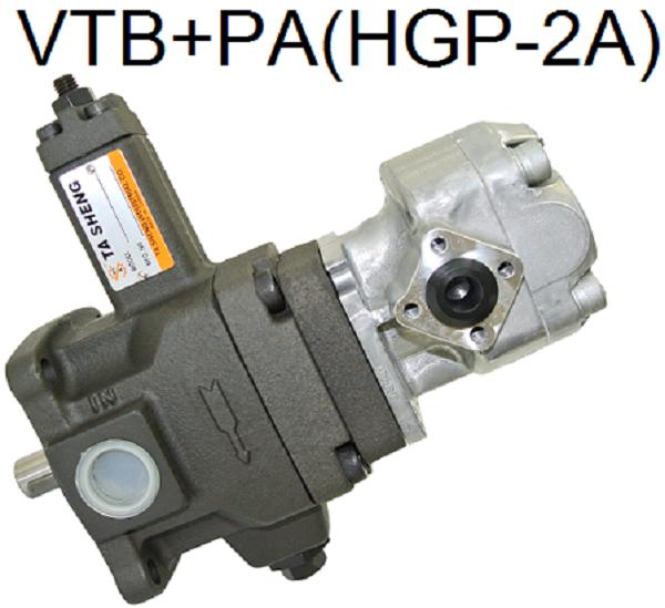 VTB+S,VTC+S系列<br>可變葉片幫浦+齒輪幫浦 1