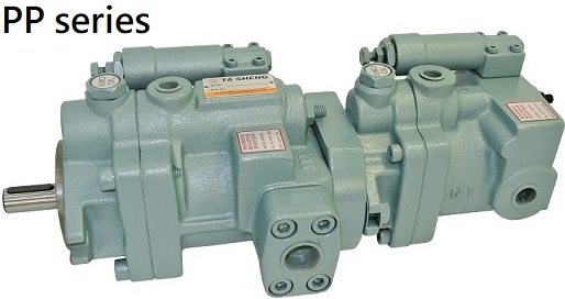 P & PP series / High Pressure variable Displacement (Dobule)  Pistor Pump 2